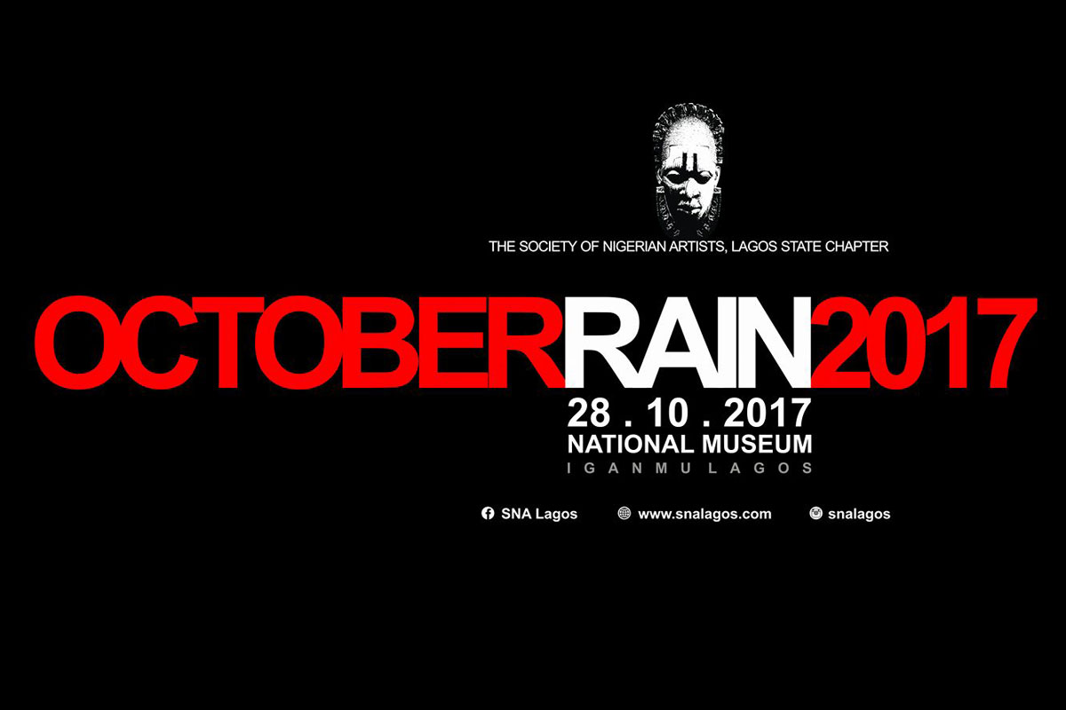SNA Lagos October Rain 2017 Art Exhibition